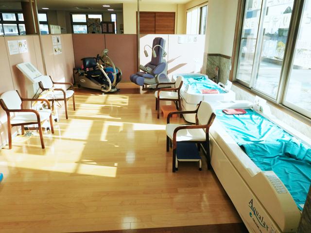 リハビリ室・電気治療室の様子